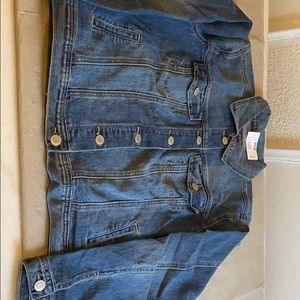 Small women's New Maurices Jean jacket